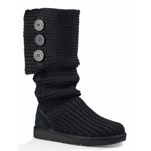 UGG Cardy classic black tall boots